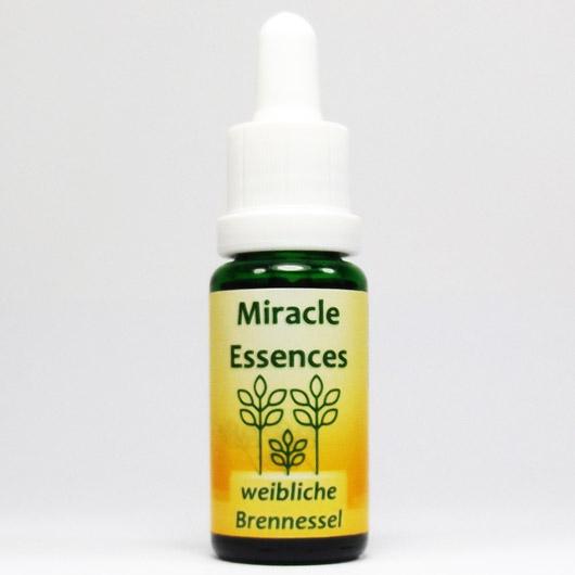 weibliche Brennessel Blütenessenzen Miracle Essences